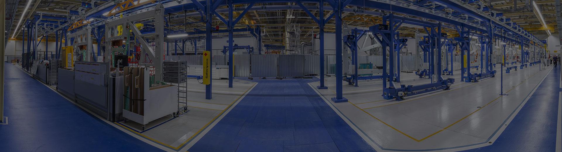 نصب و راه اندازی خطوط تولید